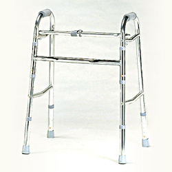 folding and adjustable walker