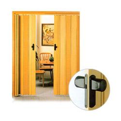 folding door locks