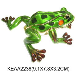 frog jewelry boxes