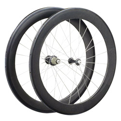 full carbon 650c wheel set