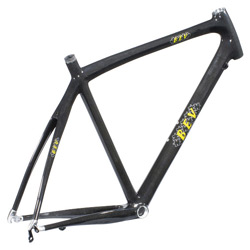 full carbon racing frame