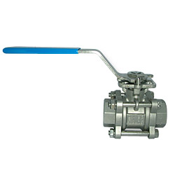 full port direct mounting pad ball valves