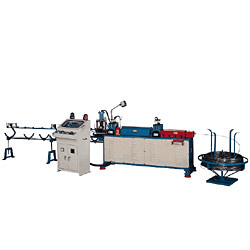 fully automatic straightening and cutting machine