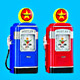Gasoline Pump Alarm Clocks
