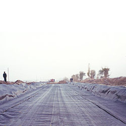geotextile pavement for road