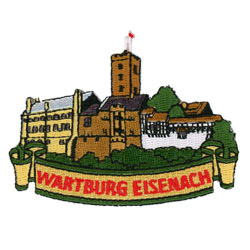 german wartburg eisenach embroidered patch