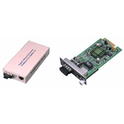 gigabit ethernet media converters/modules
