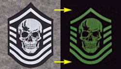 glow in dark patches