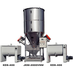 gradual reduction automatic metering mixer