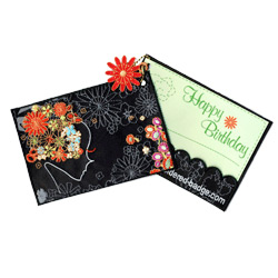 greeting embroidered cards