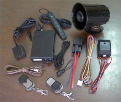 gsm car alarm systems