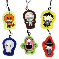 halloween embroidered cell phone strip