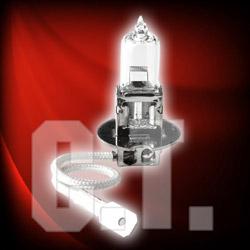 halogen bulb and light