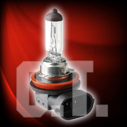 halogen bulb and light