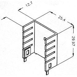 Stamped Aluminum Heat Sinks