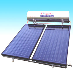 flat plate collector and heater