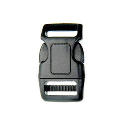 heavy contoured side release buckle