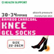 Shank Pressurized And Heel Decompress Bamboo Charcoal Knee Socks