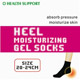Heel Moisturized Gel Socks