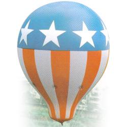 helium hot air balloon shape