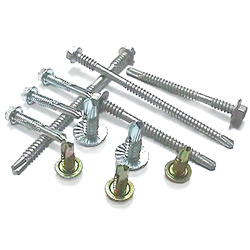 hex washer head self drilling screws