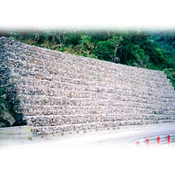 hex wire netting gabion mesh