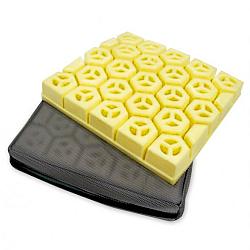 hexagonal cells seat cushion