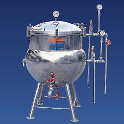 high pressure double steam boiler