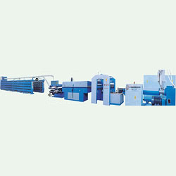 high speed flat yarn making machine, european type