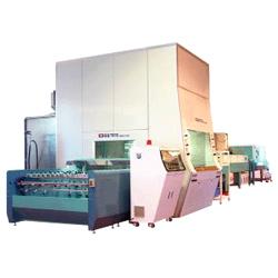 horizontal bell electrostatic spraying machine