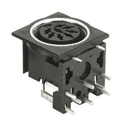 horizontal socket pcb quick lock type