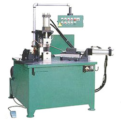 horizontal type tube notching machines
