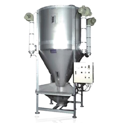 hot air vertical drying mixers