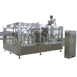 hot drink washing filling capping monoblock