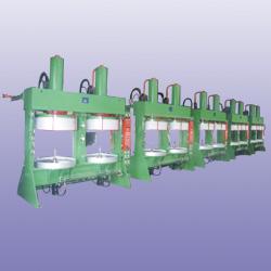 hydraulic b.o.m tire curing press