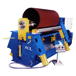hydraulic cnc 4 roller plate bending machines