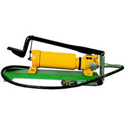 hydraulic foot pump