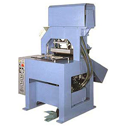 hydraulic hot melt creasing machine