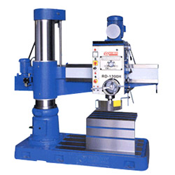 hydraulic radial drill machines