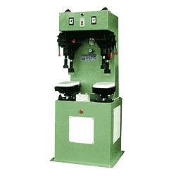 hydraulic sole attachine pressing machine a (forming), c (sole pressing)