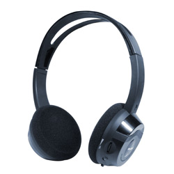 in-car ir wireless stereo headphone