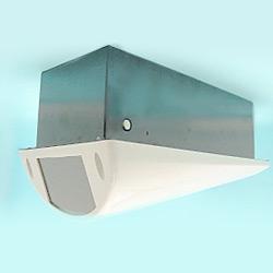 indoor ceiling camera housing