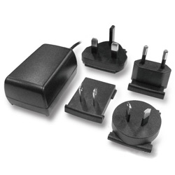 interchangeable switching power adapter