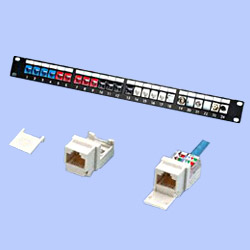 keyston patch cords with non-pc board