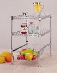 kitchen metal racks