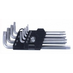 9Pcs Long Star Key Wrench Set