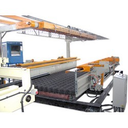 AUTOMATIC WELDED MESH TURNING & STACKING MACHINE