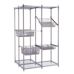 Adjustable-material-storage-rack