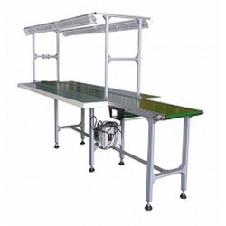 Belt-Conveyor-and-Bilateral-Workbench