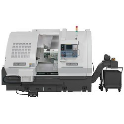 CNC-Lathe-Twin-Spindle---Single-Turret